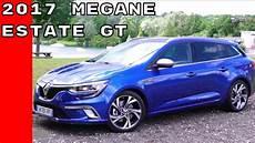 2017 Renault Megane Estate Gt Test Drive And Interior