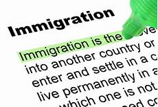 immigration highlighted words and phrases