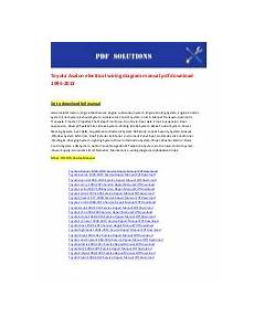 download car manuals pdf free 2000 toyota avalon auto manual toyota avalon repair manual 1995 2011