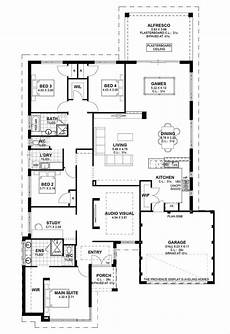 av jennings house floor plans floor plan av jennings house plans retro single story open
