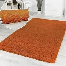 shaggy orange soldes tapis24