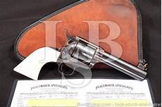 colt 3rd gen single action army saa blue 4 3 4 peacemaker specialists custom revolver 1977 45