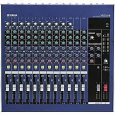 yamaha mg16 4 16 input 4 mixer musician s friend