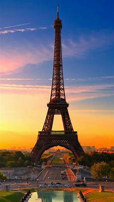 Black Wallpaper Iphone Android Mobile Screen Eiffel Tower