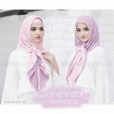 Model Segiempat Untuk Kondangan Jilbab Gucci