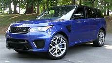 2015 2016 Range Rover Sport Svr Start Up Road Test And