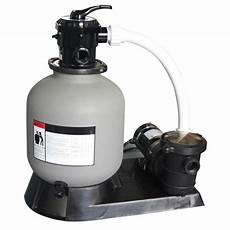 sandfilter für pool 19 in sand filter and 1 hp motor for above ground pools