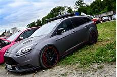ford focus st tuning grey ford focus st station wagon with elements