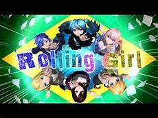 Vocaloid Brasil Rolling Hatsune Miku Megurine