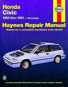 old cars and repair manuals free 1984 honda cr x security system honda civic 1984 1991 haynes service repair manual sagin workshop car manuals repair books