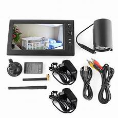 funk überwachungskamera mit monitor funk kamera mit 7 quot 4 kanal monitor 220 berwachungskamera ebay