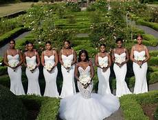 black wedding moment of the day this and bridesmaids seriously came to slay wedding