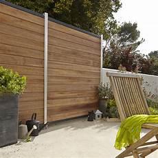 panneau cloture jardin photo quot panneau bois bambou est quot cl 244 ture muret