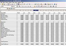 create an income expense spreadsheet for your small business by hcworks