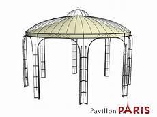 Pavillon Metall Rund Gartenlaube Ausgefallen Sch 246 Ner