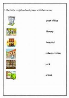 places in my neighbourhood worksheets 16015 worksheets neighbourhood places