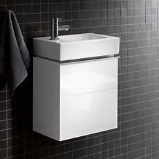 Waschbecken Kleines Bad - keramag icon xs handwaschbecken unterschrank front und