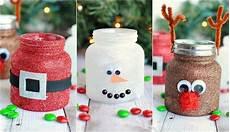 weihnachtliches basteln kinder beliebte motive windlichter