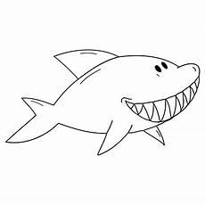 malvorlage hai haizeichnung zeichenvorlagen malvorlagen