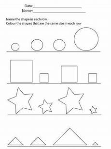 sorting size worksheets 7881 shapes and sorting repin and the learning with images kindergarten worksheets
