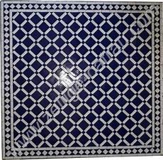 table carr 233 e en zellige table carr 233 e mosaique marocaine