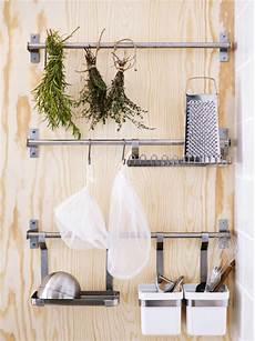 ikea küchenutensilien aufbewahrung drei grundtal stangen halten grundtal beh 228 lter in wei 223
