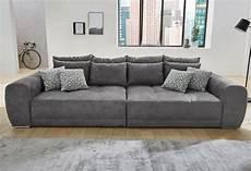 big sofa inklusive loser r 252 cken und armlehnkissen