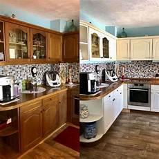 küchenfronten streichen farbe alte k 252 che streichen vorher nachher