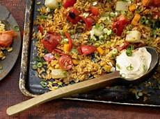 Vegetarische Gerichte Schnell - baked vegetable rice recipe eat smarter usa