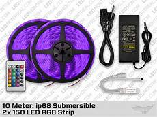 led strips 10 m 10 meter submersible ip68 150 led rgb strip