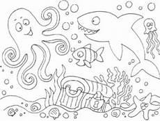 Unterwasser Tiere Malvorlagen Hochzeit Ausmalbild Kostenlos Unterwasserwelt Kinder Zeichnen Und