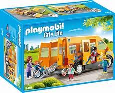 Playmobil Ausmalbilder Citylife 140 Playmobil City 9419 4008789094193 Schulbus