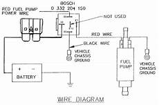 fuel pump relay wiring