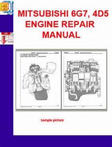 small engine repair manuals free download 1996 mitsubishi pajero interior lighting mitsubishi 6g7 4d5 engine repair manual download manuals t