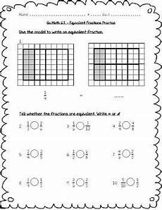 equivalent fraction worksheets for grade 6 4266 go math practice 4th grade 6 1 equivalent fractions worksheet freebie in 2019 fractions