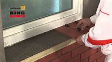Neue Fensterbank Auf Alte Kleben - einbau klinkerfensterb 228 nken hd 1080p