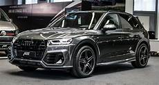 2018 audi q5 gets new clothes and a power boost from abt carscoops
