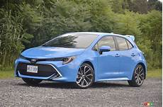 2019 toyota corolla hatchback drive car reviews
