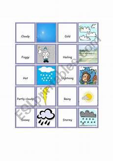 weather domino worksheets 14528 weather dominoes esl worksheet by adrianak