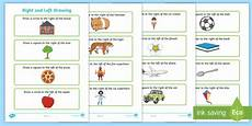 directions worksheets ks1 11570 right and left drawing worksheet right left draw direction