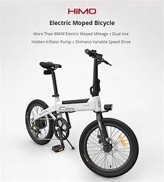 xiaomi himo c20 sepeda elektrik smart moped bicycle 250w