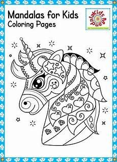 Unicorn Malvorlagen Kostenlos Font Unicorn Mandala For Free Mandala In 2020