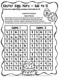 fun games 4 learning easter math games no prep