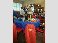 Theme: Superheroes. We won best dressed table award for