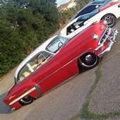 1954 Chevrolet With 20 Steelies Detroit Steel Wheels