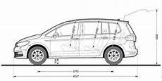 Vw Sharan Länge - kapacitet motora vw touran technische daten 2015
