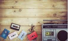 cassetta musica retro tecnologia di musica radiofonica registratore a