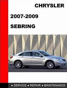 car repair manuals online pdf 2007 chrysler sebring engine control chrysler sebring 2007 2008 2009 2010 service repair manual downlo
