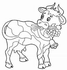 malvorlagen zum drucken ausmalbild kuh kostenlos 3