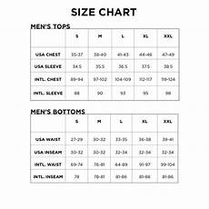 Medium Size Chart Men S And Youth Size Charts